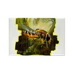 bee insect Rectangle Magnet (100 pack)