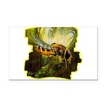 bee insect Rectangle Car Magnet
