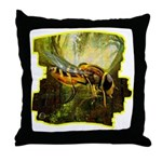 bee insect Throw Pillow