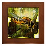 bee insect Framed Tile