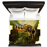 bee insect King Duvet