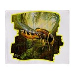 bee insect Throw Blanket
