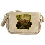 bee insect Messenger Bag