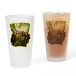 bee insect Drinking Glass