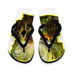 bee insect Flip Flops