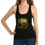 bee insect Racerback Tank Top