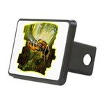 bee insect Rectangular Hitch Cover
