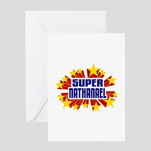 Nathanael the Super Hero Greeting Card