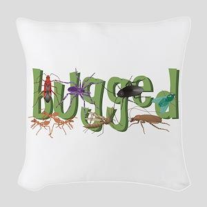 Bugged Woven Throw Pillow