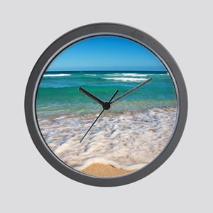 Tropical Beach Wall Clock