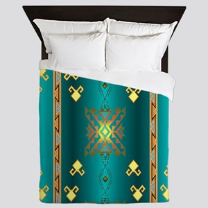 Sun In Winter Blanket Design Queen Duvet