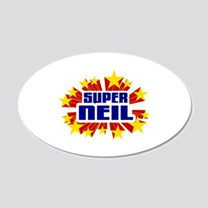 Neil the Super Hero Wall Decal