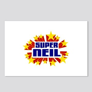Neil the Super Hero Postcards (Package of 8)