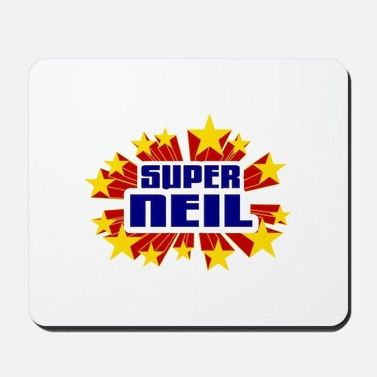 Neil the Super Hero Mousepad