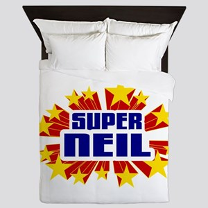 Neil the Super Hero Queen Duvet