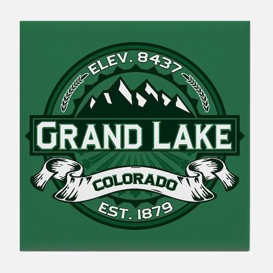 Grand Lake Forest Tile Coaster