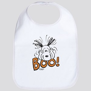 Snoopy Boo Cotton Baby Bib