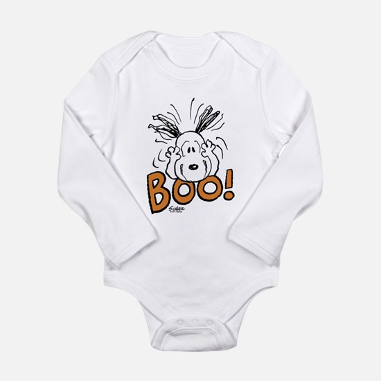 Snoopy Boo Long Sleeve Infant Bodysuit