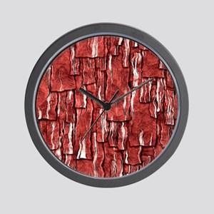 Got Meat? - Overlapping bacon Wall Clock