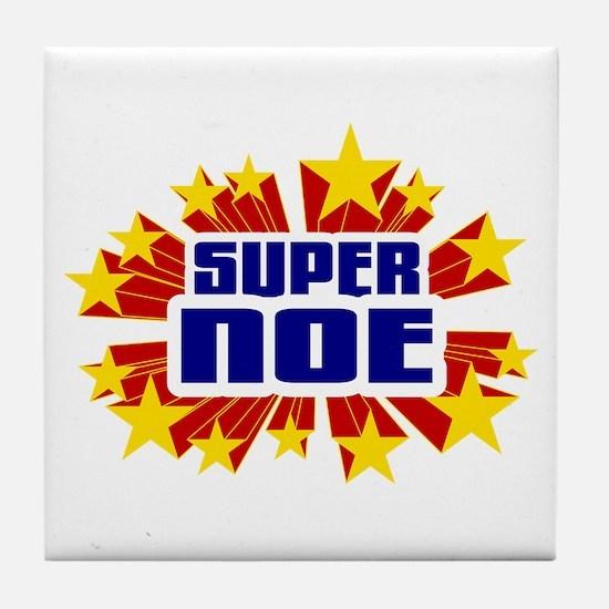 Noe the Super Hero Tile Coaster