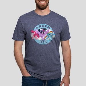 My Little Pony Dream Big Mens Tri-blend T-Shirt