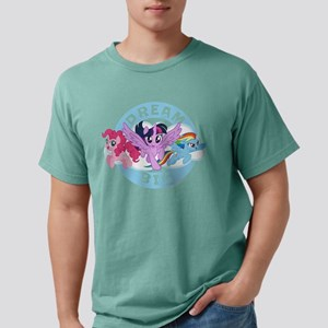 My Little Pony Dream Big Mens Comfort Colors Shirt