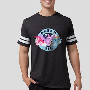 My Little Pony Dream Big Mens Football Shirt