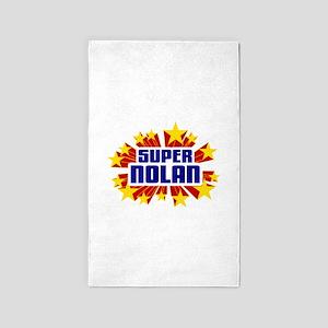Nolan the Super Hero 3'x5' Area Rug