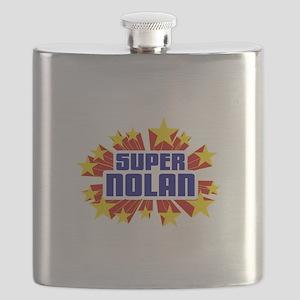 Nolan the Super Hero Flask