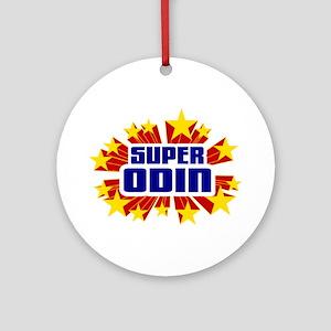 Odin the Super Hero Ornament (Round)