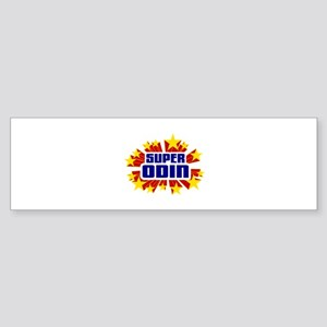 Odin the Super Hero Bumper Sticker