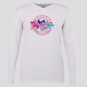 My Little Pony Dream Big Plus Size Long Sleeve Tee