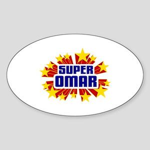 Omar the Super Hero Sticker