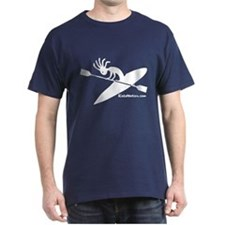 Kokopelli Kayaker Dark T-Shirt