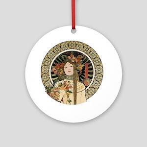 Vintage Art Nouveau Alfonse Mucha a Trappistine Po