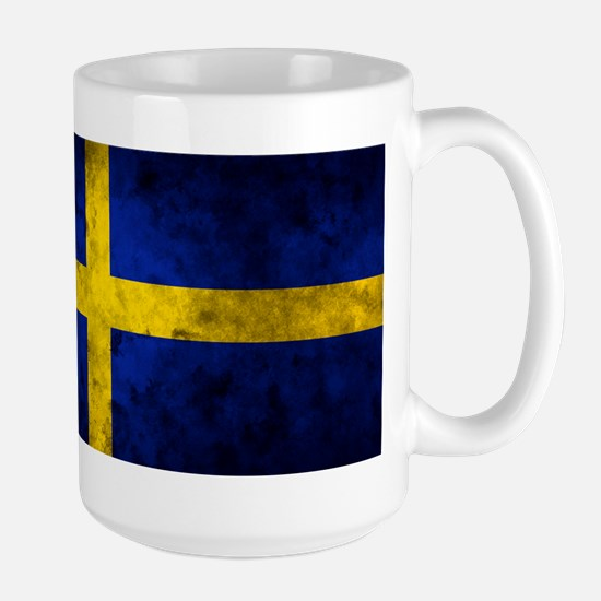 Swedish Flag Large Mug