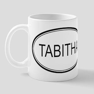 Tabitha Oval Design Mug