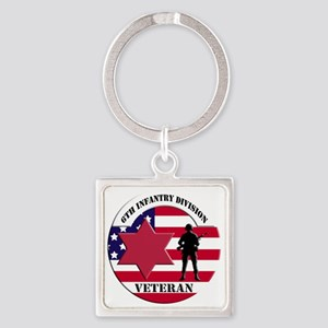 6th Infantry Division Keychains