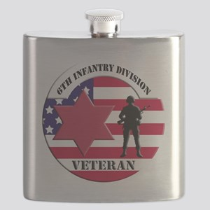 6th Infantry Division Flask