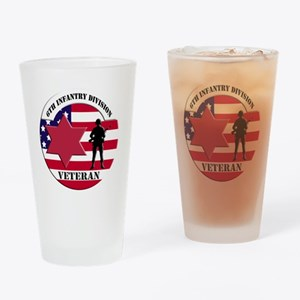 6th Infantry Division Drinking Glass