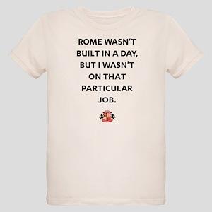 Rome Wasn't Built In A Day SA Organic Kids T-Shirt