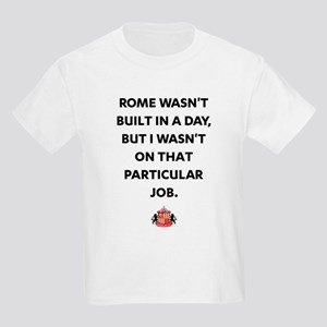 Rome Wasn't Built In A Day SAFC Kids Light T-Shirt