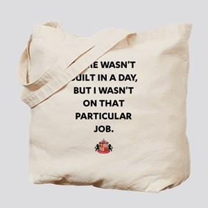 Rome Wasn't Built In A Day SAFC Tote Bag