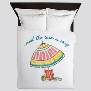 and the livin is easy Queen Duvet