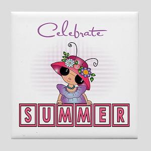 Celebrate Summer #2 Tile Coaster