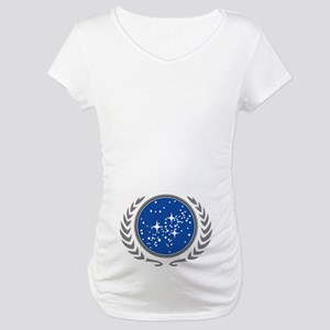 United Federation of Planets Maternity T-Shirt