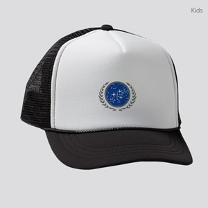United Federation of Planets Kids Trucker hat