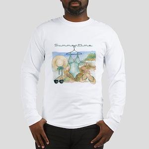 Summertime #3 Long Sleeve T-Shirt