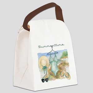 Summertime #3 Canvas Lunch Bag