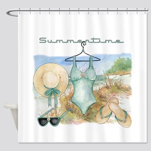 Summertime #3 Shower Curtain